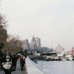 過去へタイムトラベル。上海発展前の街の比較写真。過去【过去】