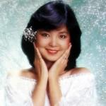 中国中華圏で活躍する人気歌手。邓丽君(Dèng Lì jūn)テレサ・テン