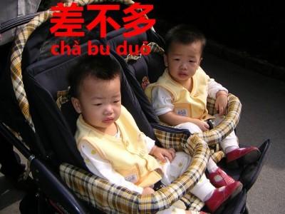 差不多な双子