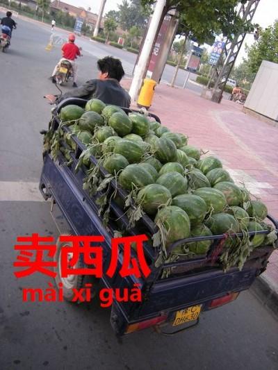中国のスイカ