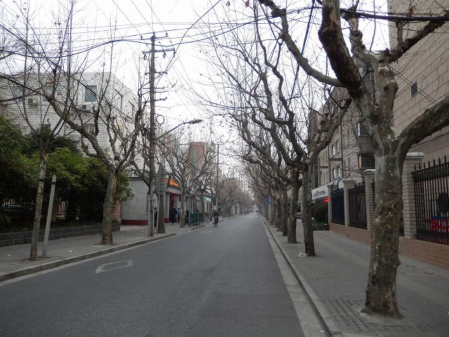春節あるある街が閑散