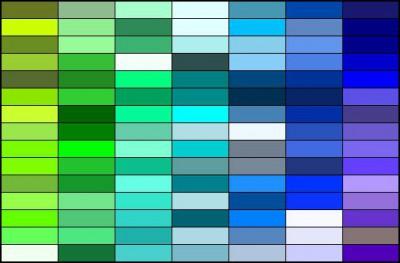 色の読み方、日本語表現一覧。色【颜色】