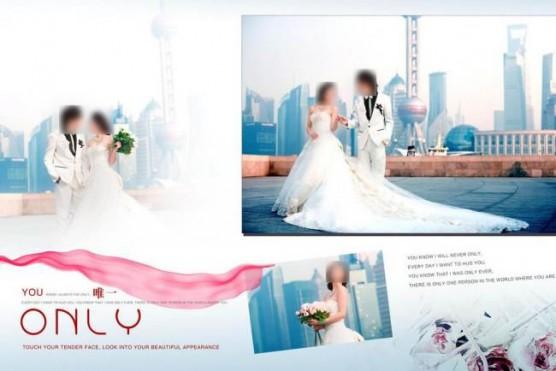 中国の結婚アルバム