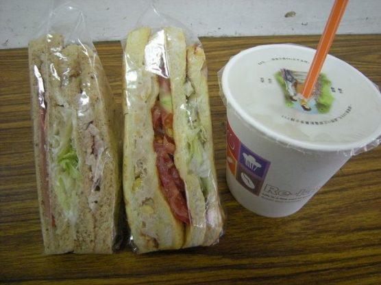 台湾定番朝ごはんサンドイッチ