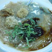 麺線も有名な台湾