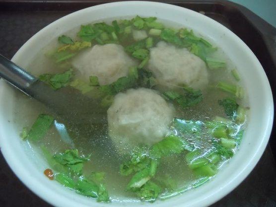 つみれ団子スープ