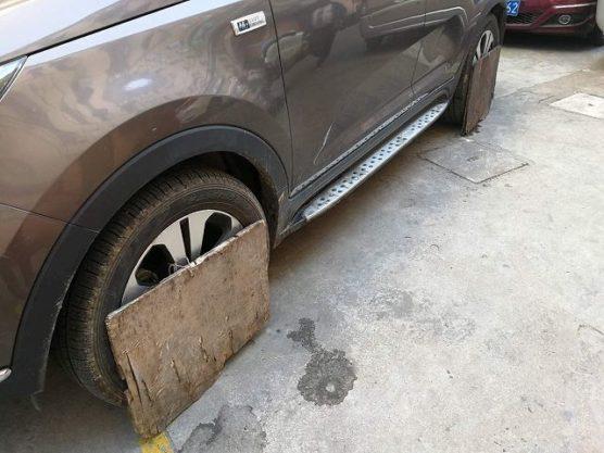 中国の停車措置