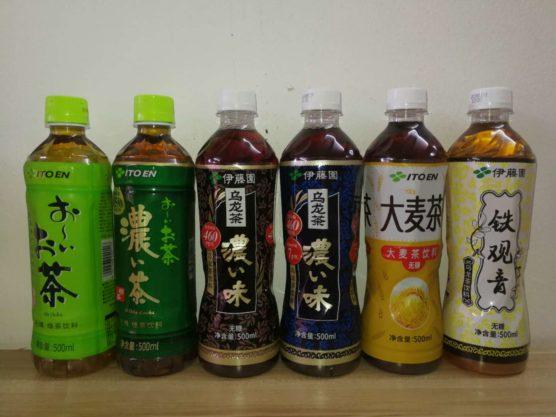 中国で販売している無糖ドリンク