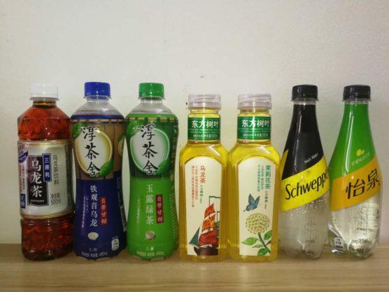 中国で販売している無糖ドリンク炭酸