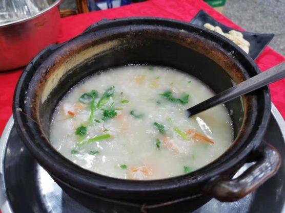 広東の海鮮粥