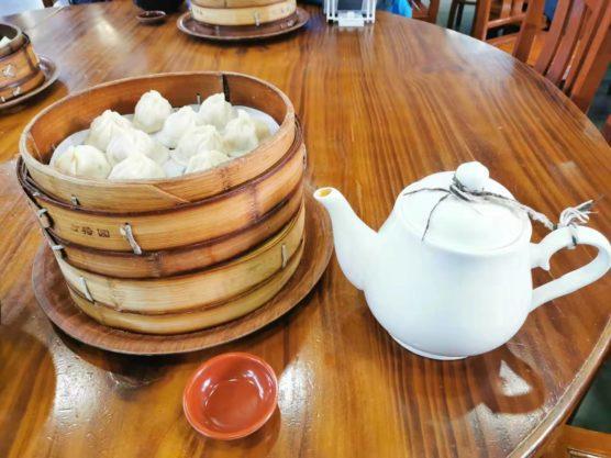 上海の上海古猗园餐厅の小籠包