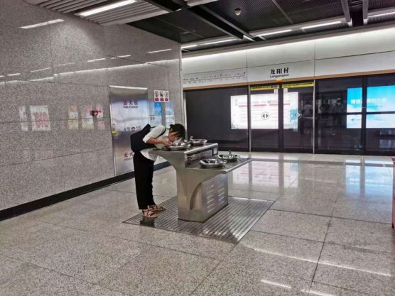 湖北省武漢の地下鉄