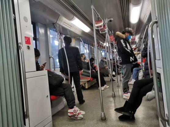 上海地下鉄コロナ対策