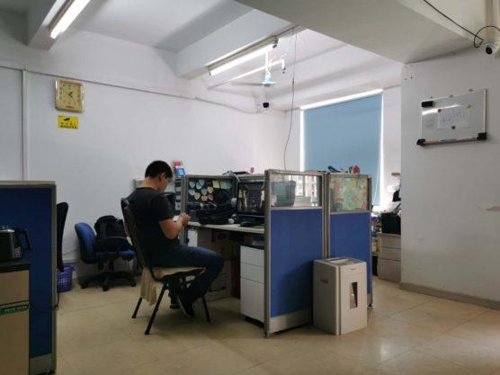 中国の事務所